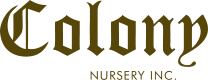 Colony Nursery Logo